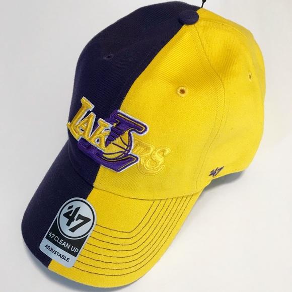 quality design daf65 98b43  47 Brand Los Angeles Lakers Baseball Cap Hat